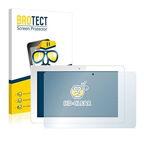 BROTECT Schutzfolie kompatibel mit Odys Maven 10 Pro (2 Stück) klare Bildschirmschutz-Folie