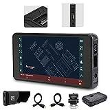 PortKeys Monitor de cámara PT5 de 5 pulgadas DSLR profesional a...