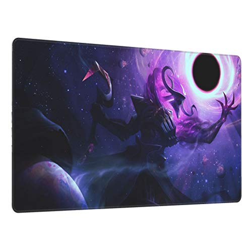 Thresh LOL League of Legends Gaming Mouse Pad, Large Mouse Pad 15.8 X 29.5-Inch,Computer Keyboard Pad, with Polyester Material and Non-Slip Rubber Base Design