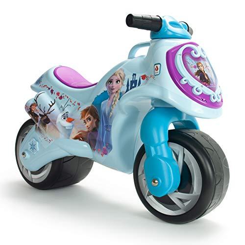 INJUSA - Disney Elsa e Anna Moto Corridoio Neox Frozen II, colore blu (19028/000)