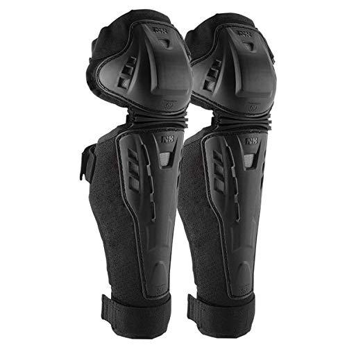 IXS Hammer Knee/Shin Guard Knieschützer MTB/BMX Unisex Erwachsene, Schwarz, L