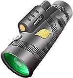 MWKLW Telescopios monoculares, binoculares monoculares, visi