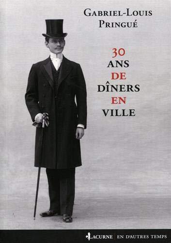 30 ans de dîners en ville