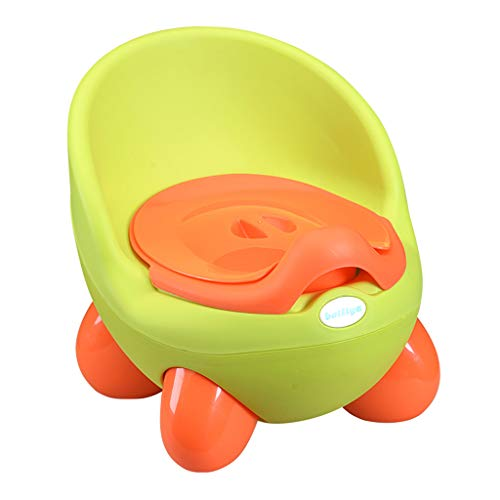 Fine Child Potty Training Chair for Boys and Girls, 2 in 1 Baby Toddler's Potty Seat Coach Chair, Comfortable Seat for Toddler (Green)