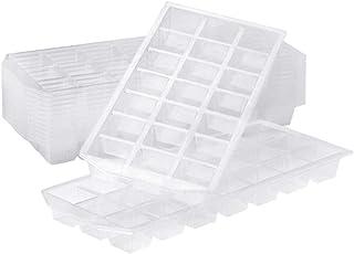 世帯のプラスチック製氷皿、食品等級21の格子角氷箱は重なっているベーキング台所を重ねることができます