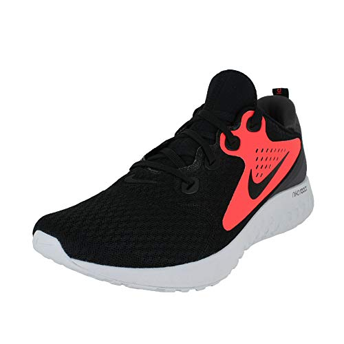 Nike Legend React Mens Running Trainers AA1625 Sneakers Shoes (UK 7.5 US 8.5 EU 42, Black Flash Crimson 005)