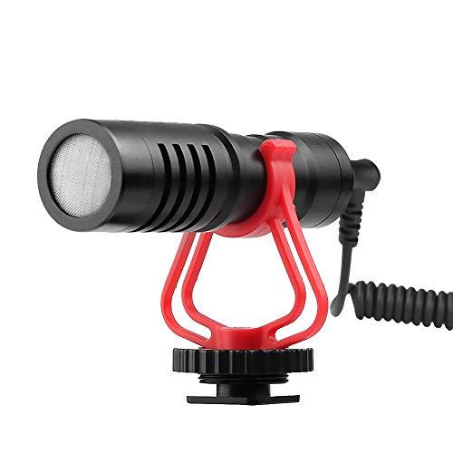 Micrófono Karaoke Mini universal cardioide direccional vídeo Micrófono condensador de...