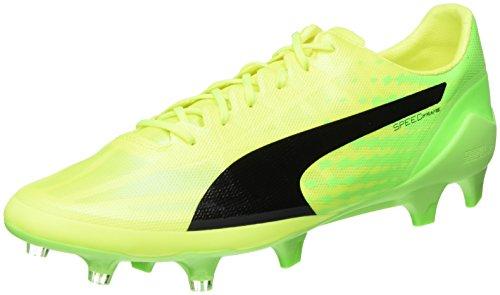 Puma Evospeed 17 SL Fg, Scarpe da Calcio Uomo, Giallo (Safety Yellow Black-Green Gecko 01), 43 EU