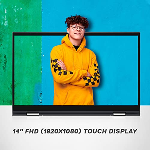 """Dell 14 (2021) i7-1165G7 2in1 Touch Screen Laptop, 16Gb RAM, 512Gb SSD, 14"""" (35.56 cms) FHD Display, Win 10 + MSO, Backlit KB + FPR + Active Pen, Silver Metal Color (Inspiron 5410, D560469WIN9S)"""
