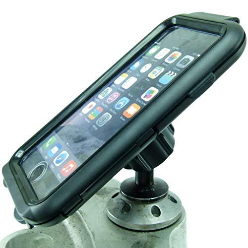 Buybits 12mm Moto Manubrio Supporto & Compact Duro Cover Rigida per IPHONE 7 Plus (5.5 ') Adatto a Kawasaki & Honda Blackbird