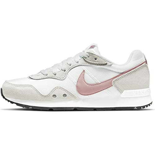 Nike Venture Runner, Zapatillas para Correr Mujer, White Pink Glaze Platinum Tint Black, 40 EU