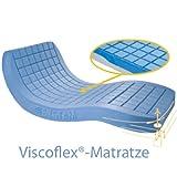 Viscoflex Dekubitus Weichlagerungsmatratze von Systam, Anti.Dekubitus Matratze bis Grad 3, bis 130 kg