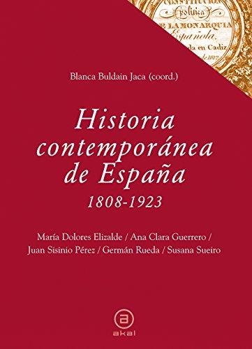 Historia contemporánea de España (1808-1923): 34 (Textos)