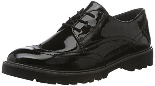 Tamaris 23664, Oxfords Donna, Nero (Black), 36 EU
