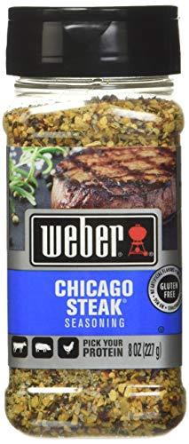 Weber Chicago Steak Seasoning, 8 Ounce