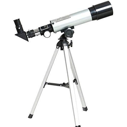 Telescopio telescopio astronómico Zoom 90X HD telescopio Espacial monocular al Aire Libre con trípode 360 / 50Mm telescopio para niños Principiantes