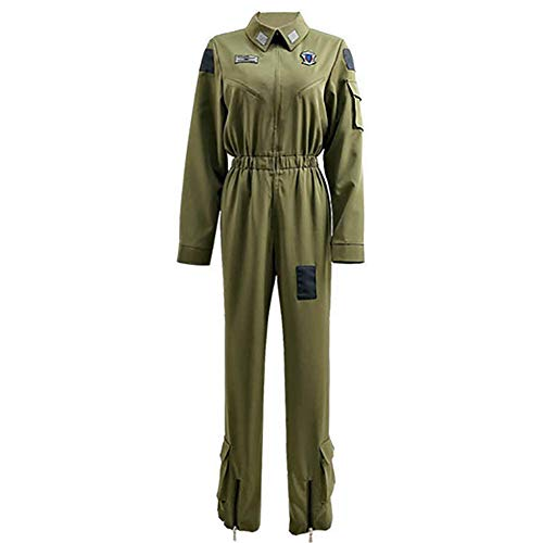 IFANSTYLE Draak en jong Cosplay Kostuum Halloween Carnaval Party Mannen Legergroen Overall Uniform, Groen, XL