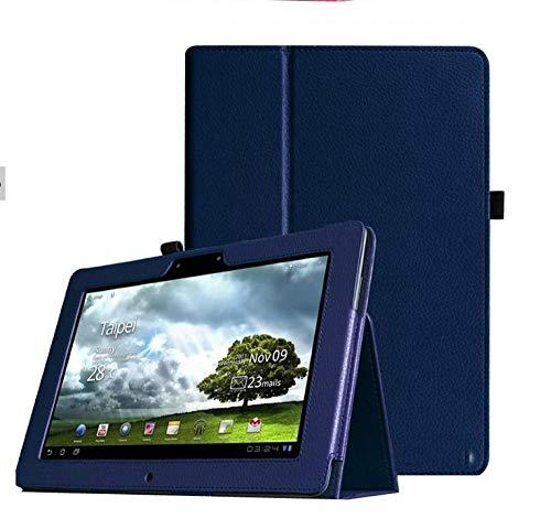 Für Asus Memo Pad Fhd 10 ME301T ME302 ME302C ME302KL 10,1-Zoll-Tablet-Lederhülle-Dunkelblau