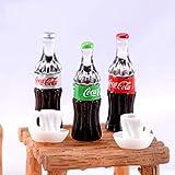 YOPDNE 1 Pièce Coke Cola Bouteille Himouto Réfrigérateur Boisson Eau Petit USA Statue Figurine Artisanat...