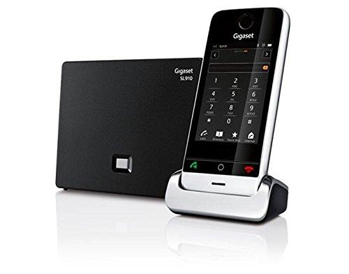 Gigaset SL910 - Schnurlostelefon mit intuitivem Touchscreen / metall/schwarz