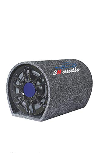 3N AUDIO 8 Inch Active Bass Tube Subwoofer with Inbuilt Amplifier 4400W