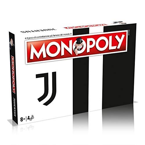 Winning Moves Juventus Momenti Monopoly gioco da tavolo - Edizione Italiana