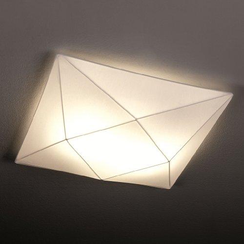 Olé By Fm Iluminación - Plafon De Techo Polaris 2 x E27 Tela Elastica