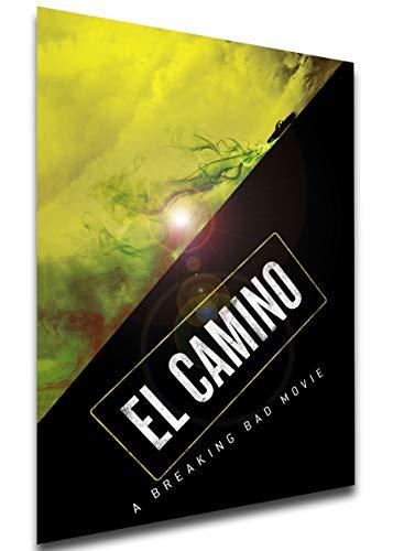 Instabuy Poster - Playbill - Film - El Camino - A Breaking Bad Movie Manifesto 70x50