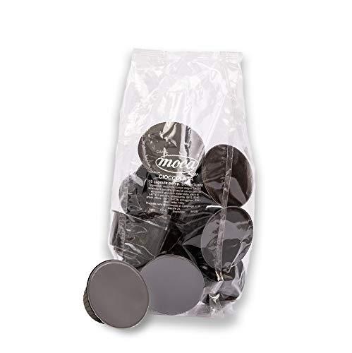 Caffè Moca - 50 Capsule Compatibili Nescafè Dolce Gusto Cioccolato - Bevanda Solubile in Capsule alla Cioccolata