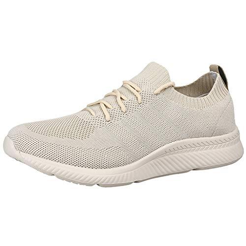 OSYARD Femmes Chaussures de Course Léger Coussin d'air Baskets Respirant Décontractée Chaussures de Marche pour Athlétique Jogging Fitness