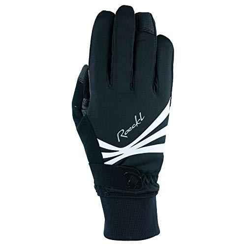 Roeckl Wilora Damen Winter Fahrrad Handschuhe schwarz/weiß 2021: Größe: 8