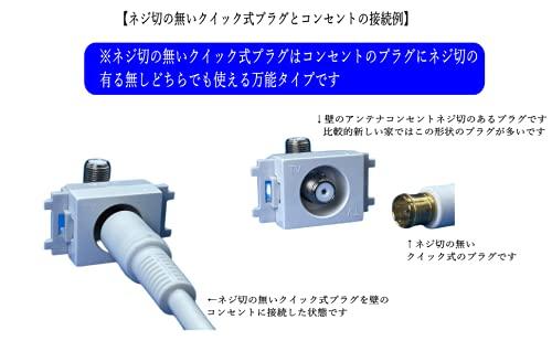『アンテナケーブル S4C-FB 75Ω OFC 0.5m』の4枚目の画像