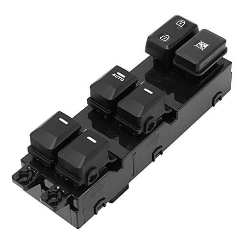 Hermoso Ajuste Para El Nuevo Interruptor De La Ventana Eléctrica 93570-1Y200 FIT Para KIA Morning Picanto 2011- (Color : Black)