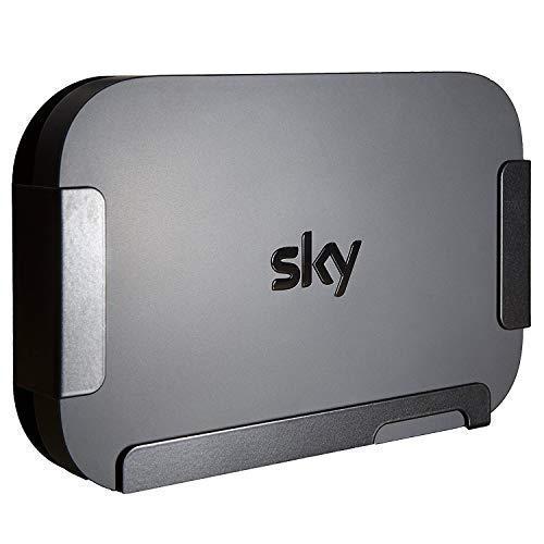 Sky Q Mini Box Wandhalterung - Hergestellt in Großbritannien von Q-View (Schwarz)
