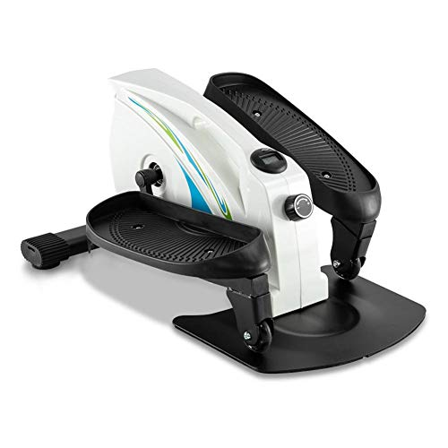 Purchase LLDWORK Under Desk Elliptical Machine Under Desk Elliptical Trainer with Non-Slip Peda, LCD...