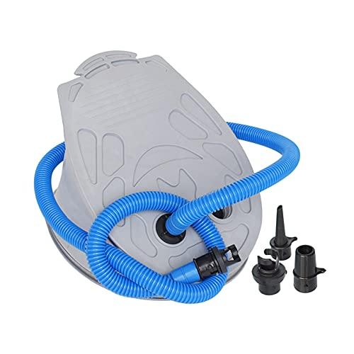 Colcolo Adaptador de Inflador de Bomba de Aire de Pie para Colchón de Barco de Kayak Inflable