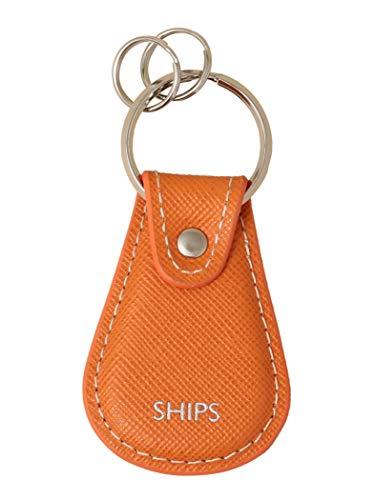 (シップス) SHIPS SAFFIANO KEY HOLDER 110030694 Orange2