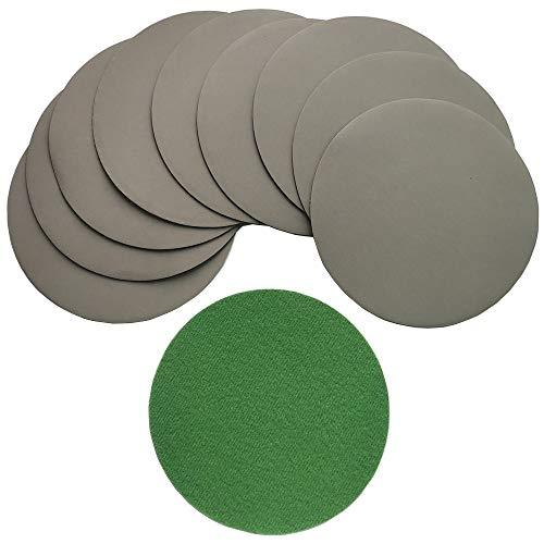 YONIK 耐水ペーパー サンドペーパー 丸型 サンダー用 紙やすり ラテックスペーパー製 耐久 鏡面磨き 光沢仕上げ 125mm 16枚セット (10枚 3000)