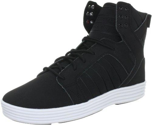 Supra Skytop Lite Hi Top Men's Sneakers (7.0 D(M) US) Black/White