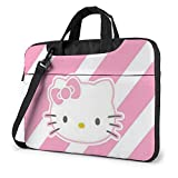XCNGG Lovely Kitty Laptop Bag Maletín de Negocios para Hombres y Mujeres, Bandolera de Hombro, Funda para computadora portátil, Bolsa de Transporte, 15.6 Pulgadas