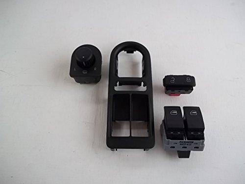 Volkswagen T5 Transporter – Kit complet d'interrupteurs électriques – Véritable – Interrupteur de fenêtre électrique/verrouillage central/commutateur de rétroviseur/garniture