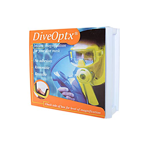 Trident Optx Flexible Dive Mask Magnifiers (Pair) 1.5