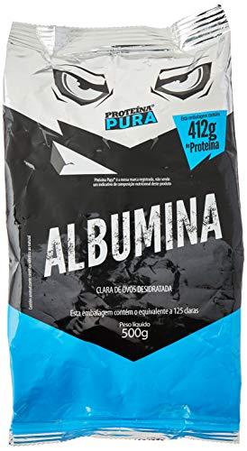 Albumina, Proteina Pura, sem Sabor, 500g
