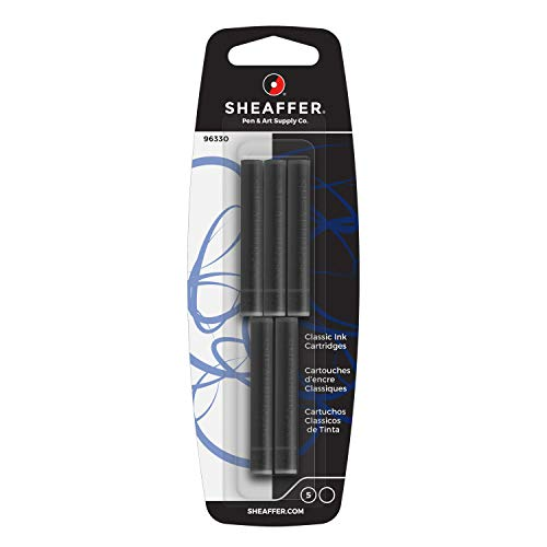 Sheaffer 96330 Tintenpatronen Skrip in Blisterverpackung Schwarz