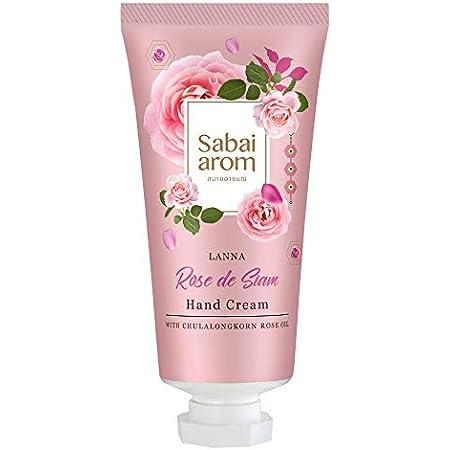 サバイアロム(Sabai-arom) ランナー ローズ デ サイアム ハンドクリーム 30g【ROS】【004】