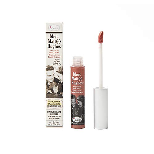 theBalm Meet Matte Hughes Liquid Lippenstift, Doting,1er Pack (1 x 7.4 ml)