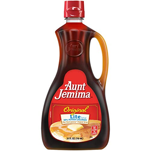 Aunt Jemima Pancake Syrup Lite, 24 oz