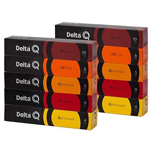 100 Cápsulas Delta Q – Degustação Café - Cafeteira Delta Q