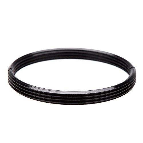 REFURBISHHOUSE 2 x Anillo Adaptador de Metal Adaptador de Aumento de Voltaje de Lente para Leica M39 Lente a Pentax Spotmatic SP S1a M42 Camara (Negro)