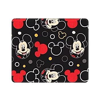 Anime Gaming Mouse Pad Square Anti-Slip Rubber Mouse Mat with Stitched Edges for Office Laptop Computer PC Wireless Mice 10 x 12 Inch